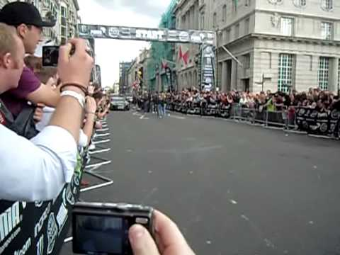 Gumball 2010 Start Pall Mall London