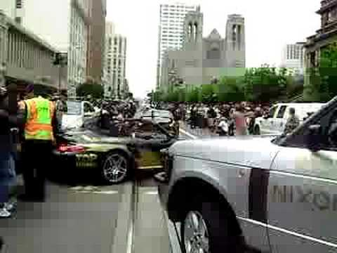 Start Of The 2008 Gumball 3000 Rally