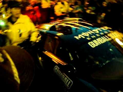 Bugatti Veyron Escorted by Toronto Police at Gumball 3000 in Toronto