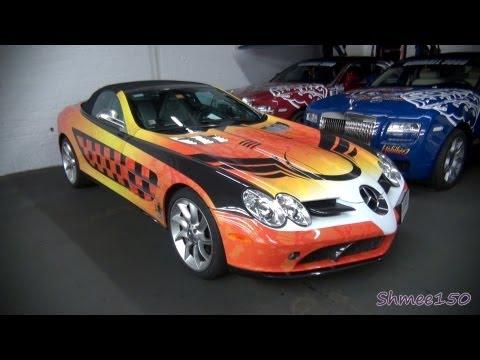 Gumball 3000 2012: Team Habibeez McLaren Mercedes SLR Roadster