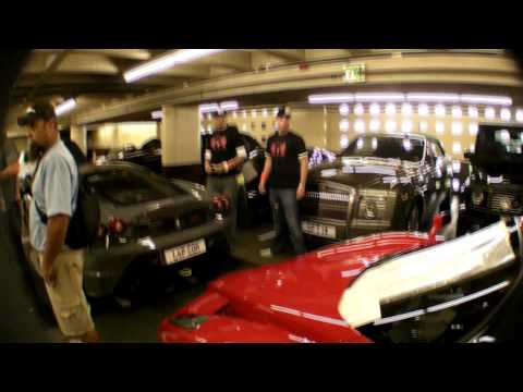 Gumball3000 2008 10th Anniversary Tour Garage Shots