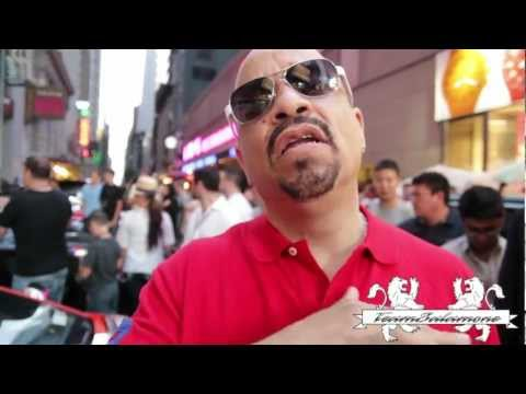 "Ice T Praises TeamSalamone for ""Big Pimpin'!  A Bad Ass moment in Life!"