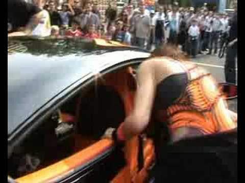 Gumball 3000 – 2007 – Bentley Continental GT Mansory Girls