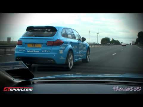 Chasing the Gumball 3000 Leg 1 Part 1 2011