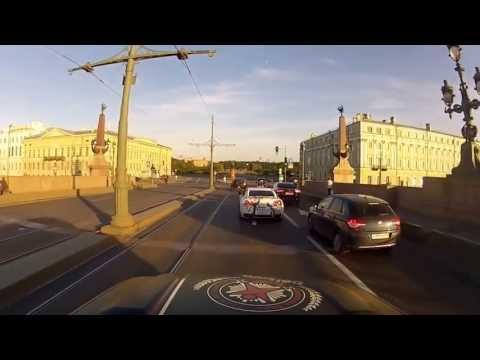 Team Betsafe Gumball 3000 '13 – Driving in St Petersburg