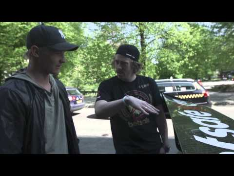 Gumball 3000 2013 Team Betsafe Dex and Jens discuss Aerodynamics