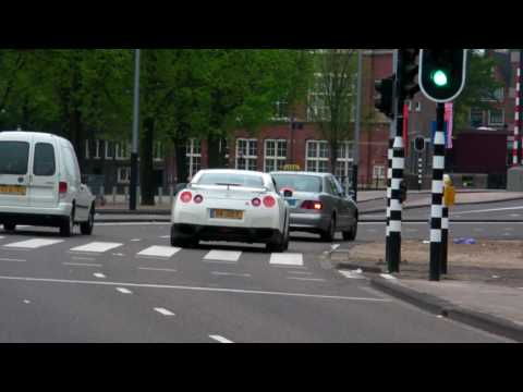 Nissan GTR Accelerate @ Gumball 3000 in Amsterdam