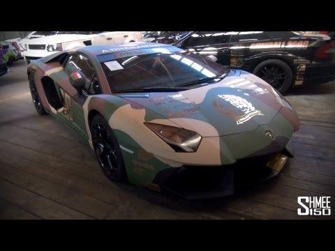 Gumball 3000 2013: Team Wolfpack Lamborghini Aventador – Traditional Camo