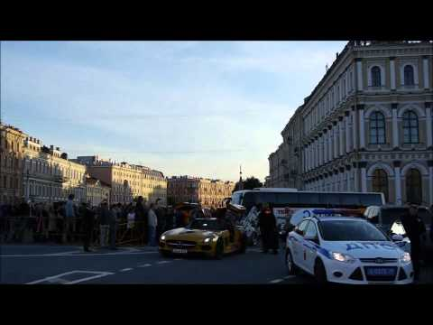 Team Betsafe Gumball 3000 '13 – Cars arrival to St Petersburg