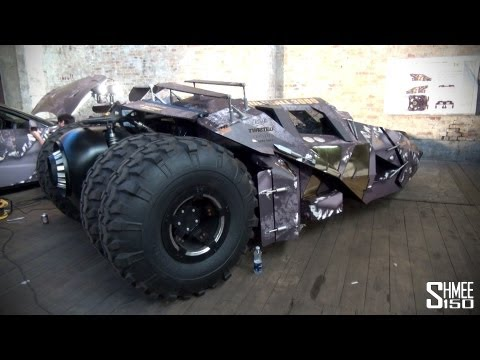 Gumball 3000 2013: Batmobile Tumbler from Team Galag