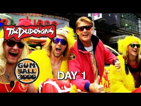 DAVID HASSELHOFF Hangs with THE DUDESONS – Dudesons Do Gumball: Day 1