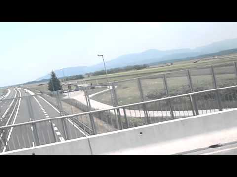 Gumball 3000 2011 on slovenia highway 3