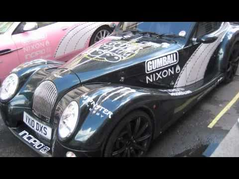 Gumball 3000 Rally 2010 Cars Part 1