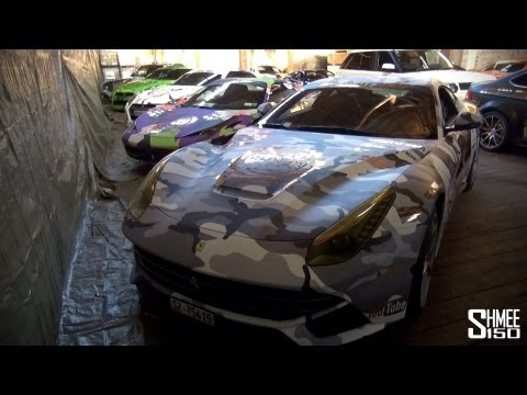 Gumball 3000 2013 Cars at Raccoon: F12, 458, GT-R, Aventador, 599 GTO and more!