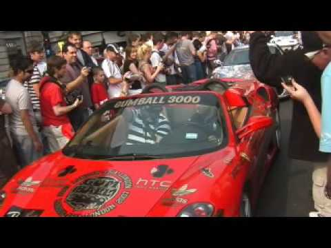 Gumball Rally Start in London – Part 1 of 2