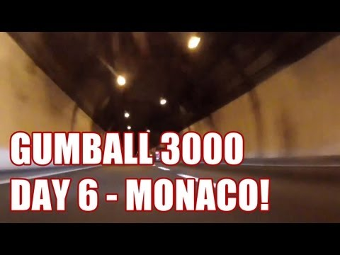 2013 GUMBALL 3000 – DAY 6 – FINAL RUN INTO MONACO!