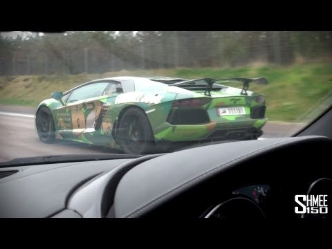 Gumball 2013: Copenhagen to Stockholm – LP640, Oakley Aventador, SLR and more!