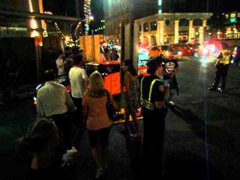 Gumball 3000 2012 Toronto Arrivals: Nissan GTR (Orange)