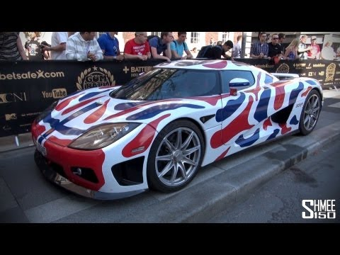 Gumball 3000 2013: Koenigsegg CCXR from Norway