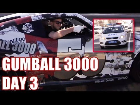 2013 GUMBALL 3000 – DAY 3, RUSSIA TO RIGA! (WITH TONY HAWK AND THE DUDESONS!)