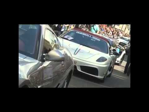 GUMBALL 3000 JON OLSSON LAMBORGHINI LP670 SV LONDON!