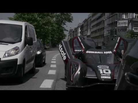 Gumball 3000 2013 Team Betsafe Jon Olsson picked up his Rebellion R2K