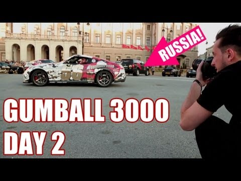 2013 GUMBALL 3000 – DAY 2, FINLAND TO RUSSIA!