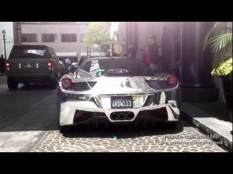 Ferrari 458 Italia Chrome gR4 Beverly Hills