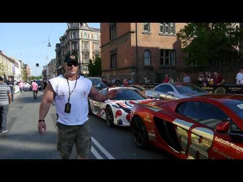Hardkorowy Koksu sprawdza fury na Gumball 3000 w Kopenhadze