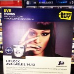 EVE's signing #liplock albums in Union Square! Fans are going CRAZY! @therealeve #newrelease #nyc