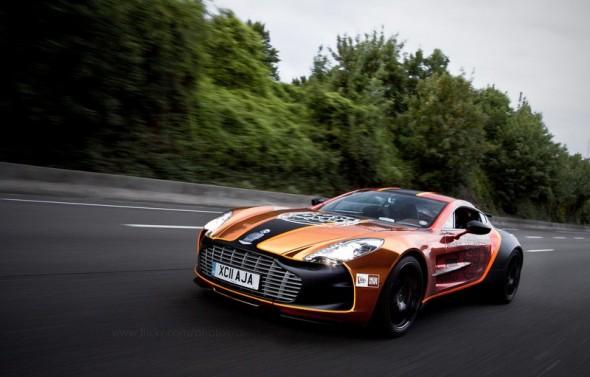 Aston-Martin-ONE-77GUMBALL 3000 2011