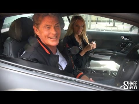 Chatting to The Hoff as Gumball departs Warsaw