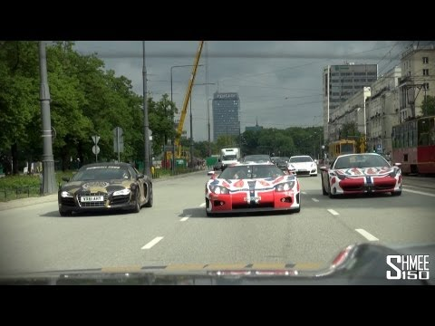 Koenigsegg CCXR on Gumball 3000 2013: Crazy Accelerations and Flyby