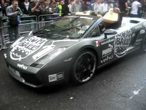 Gumball Rally 2011 Lamborghini Gallardo Spyder
