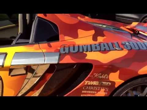 Full 360 of the Mclaren MP4 12C Spider ready for Gumball3000