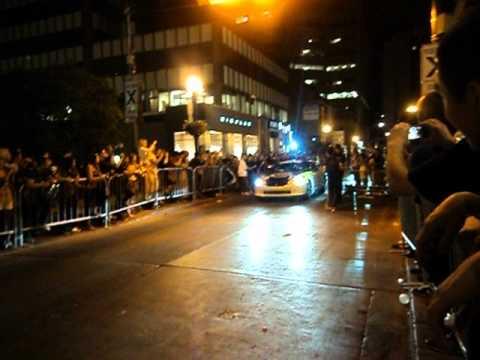 Gumball 3000 2012 Toronto Arrivals: Nissan GTR