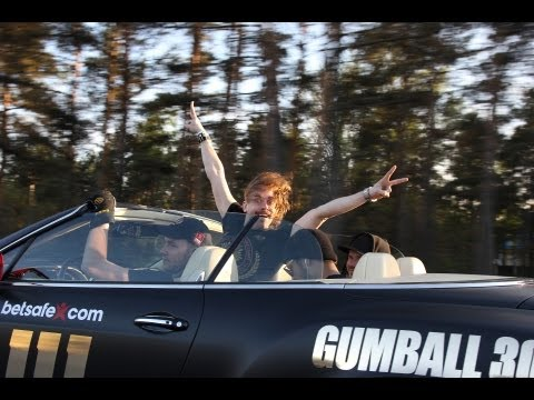 Team Betsafe Gumball 3000 '13 – Morning erection