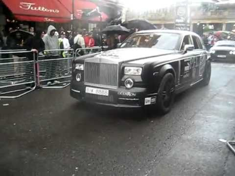 Gumball Rally 2011 Including Rolls Royce Phantom Conquistador By Mansory
