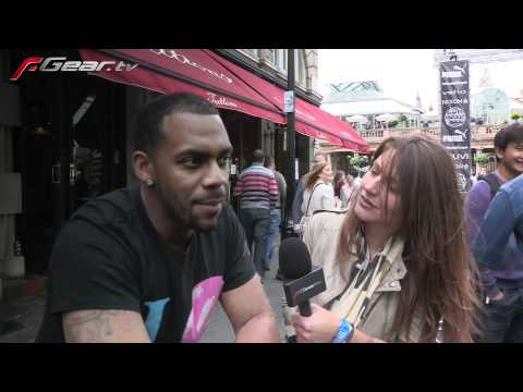Richard Blackwood@the Gumball 3000 start (2011)