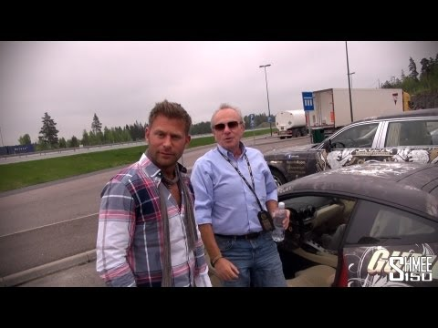 Josh gives his Dad the keys to his F12 on Gumball