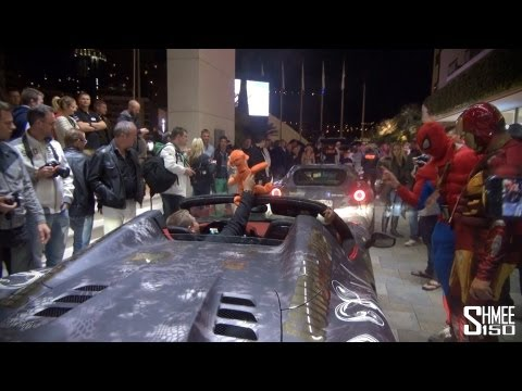 House Cartu Arrive in Monaco – F12 Berlinetta and Novitec 458 Spider