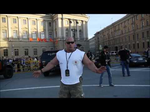 Koksu i Gumball 3000 w St Petersburgu