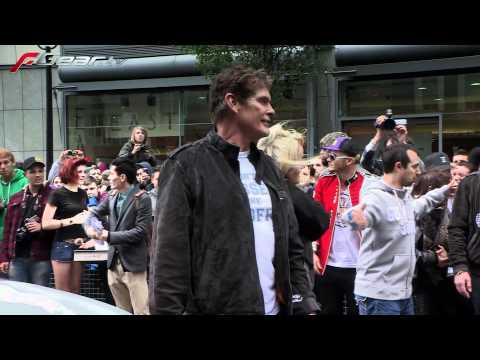 David Hasselhoff @ Gumball 3000 (2011)