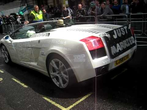 Gumball Rally 2011 With 2 X Lamborghini Gallardo Burnout