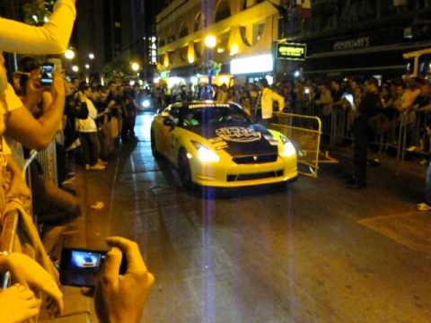 Nissan GTR Launch at Gumball 3000 2012 in Tornto
