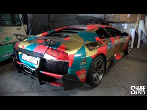 Gumball 3000 2013: Team 35 Lamborghini LP640 with SV Kit