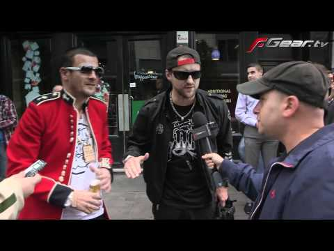 Dirty Sanchez @ Gumball 3000 (2011) start line