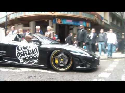 Gumball 3000 – London – Istanbul – The Start, Revs, Burnouts and Driving
