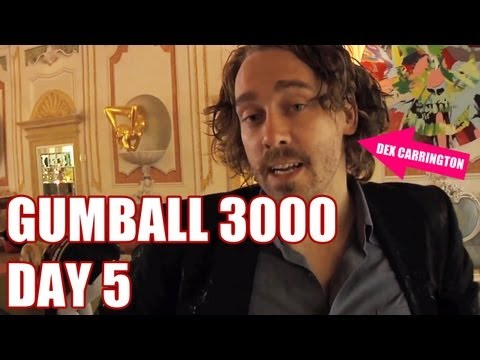 2013 GUMBALL 3000 – DAY 5 – ART LESSONS WITH MTV'S DEX CARRINGTON