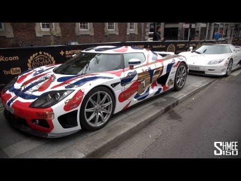 Full Grid Walk for the 2013 Gumball 3000 Supercar Rally